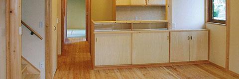 【Works 11-1】細長い敷地のシンプル+コンパクトな家