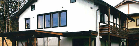 【Works 11-2】柿渋べんがら塗りの家