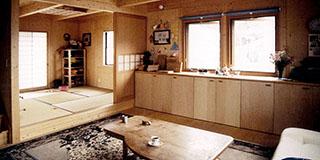 【Works 1-2】木造打ち放し・オープンプランの家