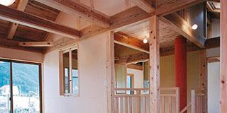 【Works 4-1】自然素材の家