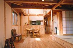 【Works 6-1】自然素材の長い家