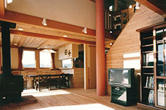 【Works 6-2】L型2世帯の家