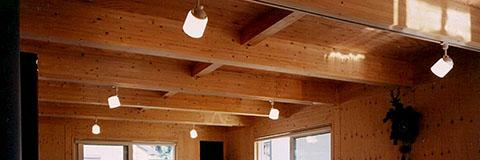 【Works 8-2】シンプル+コンパクトな木の家
