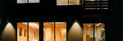 【Works 9-1】広いリビング+畳の間のシンプルな木の家