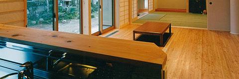 【Works 9-2】和を感じるシンプル+真壁づくりの木の家